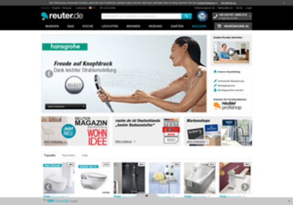 Badshop  Reuter Badshop: Erfahrungen, Bewertungen, Meinungen