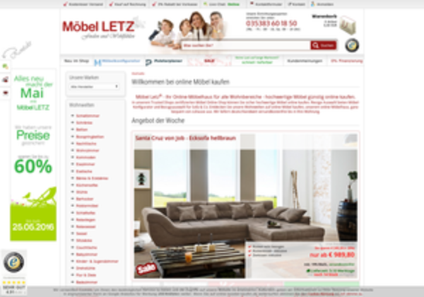 online moebel erfahrungen bewertungen meinungen. Black Bedroom Furniture Sets. Home Design Ideas